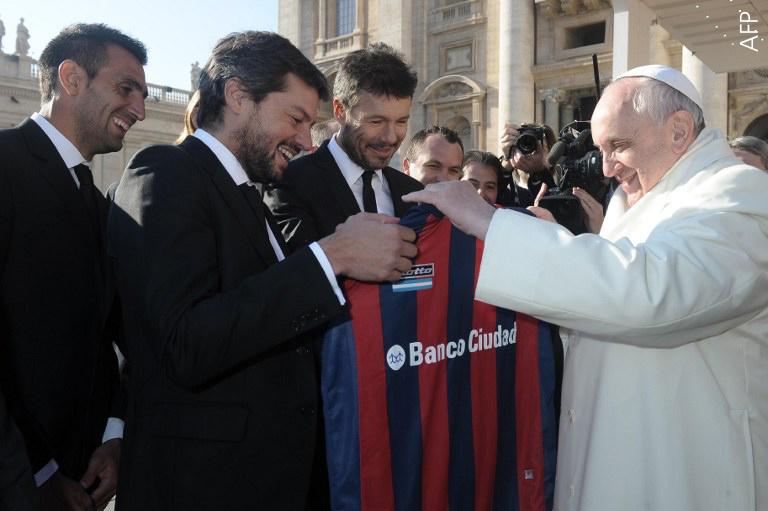 البابا فرنسيس الأول والرياضة