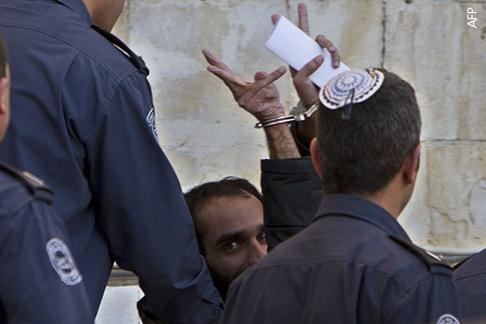 الاضراب عن الطعام - سجين فلسطيني