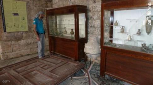سرقة المتاحف العربية - التاريخ السوري