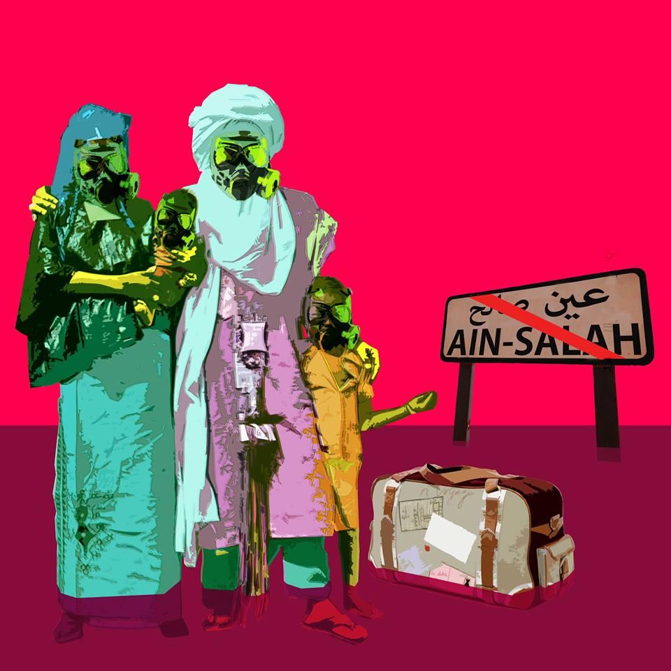 الاحتجاجات ضد استخراج الغاز الصخري - عين صالح