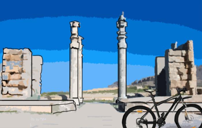 رحلة على الدراجة الهوائية عبر إيران .. مغامرة بريطانيين في إيران - صورة 2