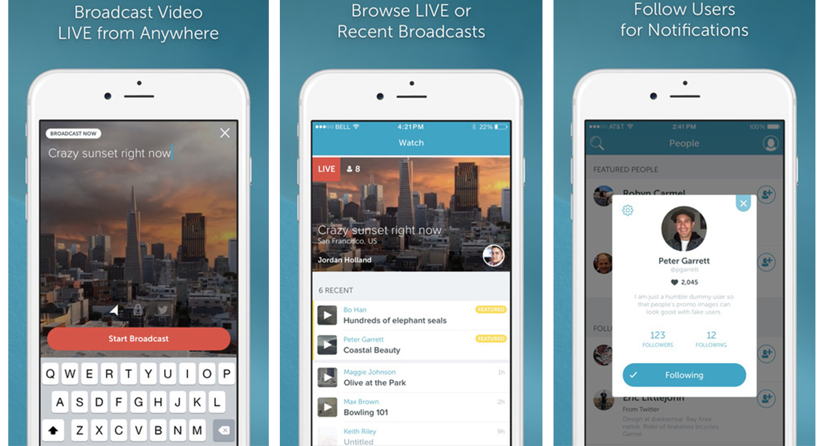 Twitter تطلق تطبيق Periscope: ثورة في عالم البث الحيّ