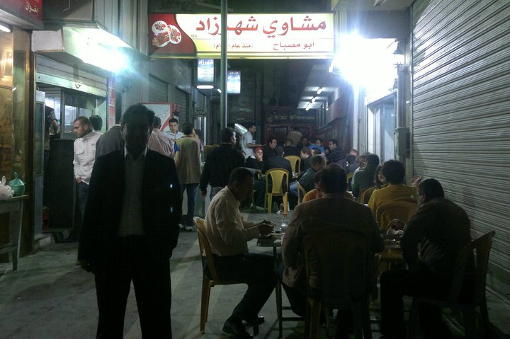 افضل المطاعم في عمان - أفضل المطاعم الشعبية في عمان - مطعم شهرزاد المعروف بأبو مصباح عمان