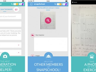 SnapSchool تطبيق لمساعدة التلامذة في واجباتهم المدرسية