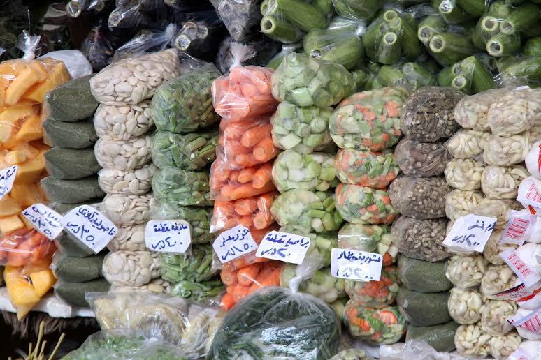 سوق التنابل السوري - خضار