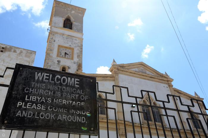 المدينة القديمة في طرابلس الليبية - كنيسة