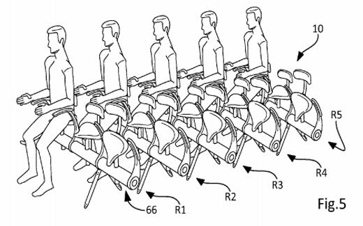 """شركة """"إيرباص"""" تعطينا لمحة عما قد تصبح عليه مقاعد الطائرات"""