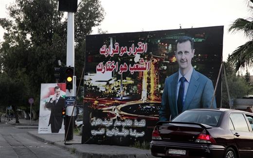 سوريا، لا تعددية حتى في الحملات الانتخابية