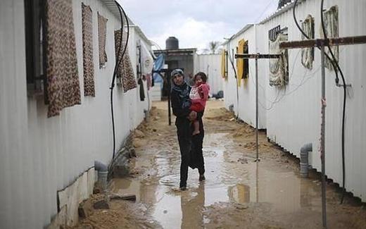 كيف يقضي مشرّدو غزة فصل الشتاء؟