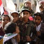 أطفال اليمن ينتقلون من مقاعد الدراسة إلى ساحات المعارك