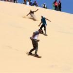 الشاب الذي عرّف المصريين على لعبة التزلج على الرمال