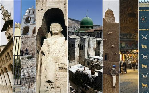 أبرز 8 معالم طالتها الحروب