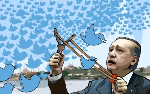 إردوغان يحارب حريّة التعبير