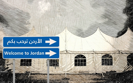 الأردن، دولة اللاجئين