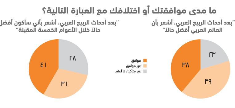 واقع الشباب العربي في 10 نقاط .. استطلاع أصداء للرأي - العبارات