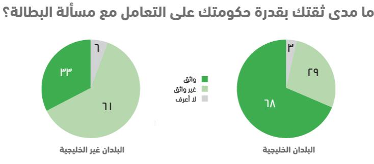 واقع الشباب العربي في 10 نقاط .. استطلاع أصداء للرأي - البطالة