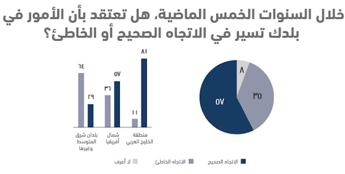 واقع الشباب العربي في 10 نقاط .. استطلاع أصداء للرأي - 5 سنوات