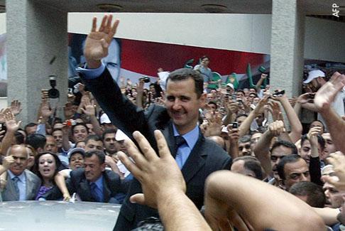 الرؤساء الدكتاتوريون وانتخابات الـ99% - بشار الأسد