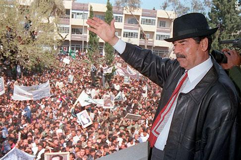 الرؤساء الدكتاتوريون وانتخابات الـ99% - صدام الحسين