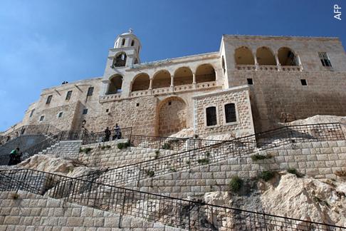 SYRIA-CHRISTIANS-MONASTERY