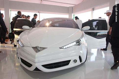 سيارات صنعت في الوطن العربي - أهم السيارات العربية - سيارة الصاروخ