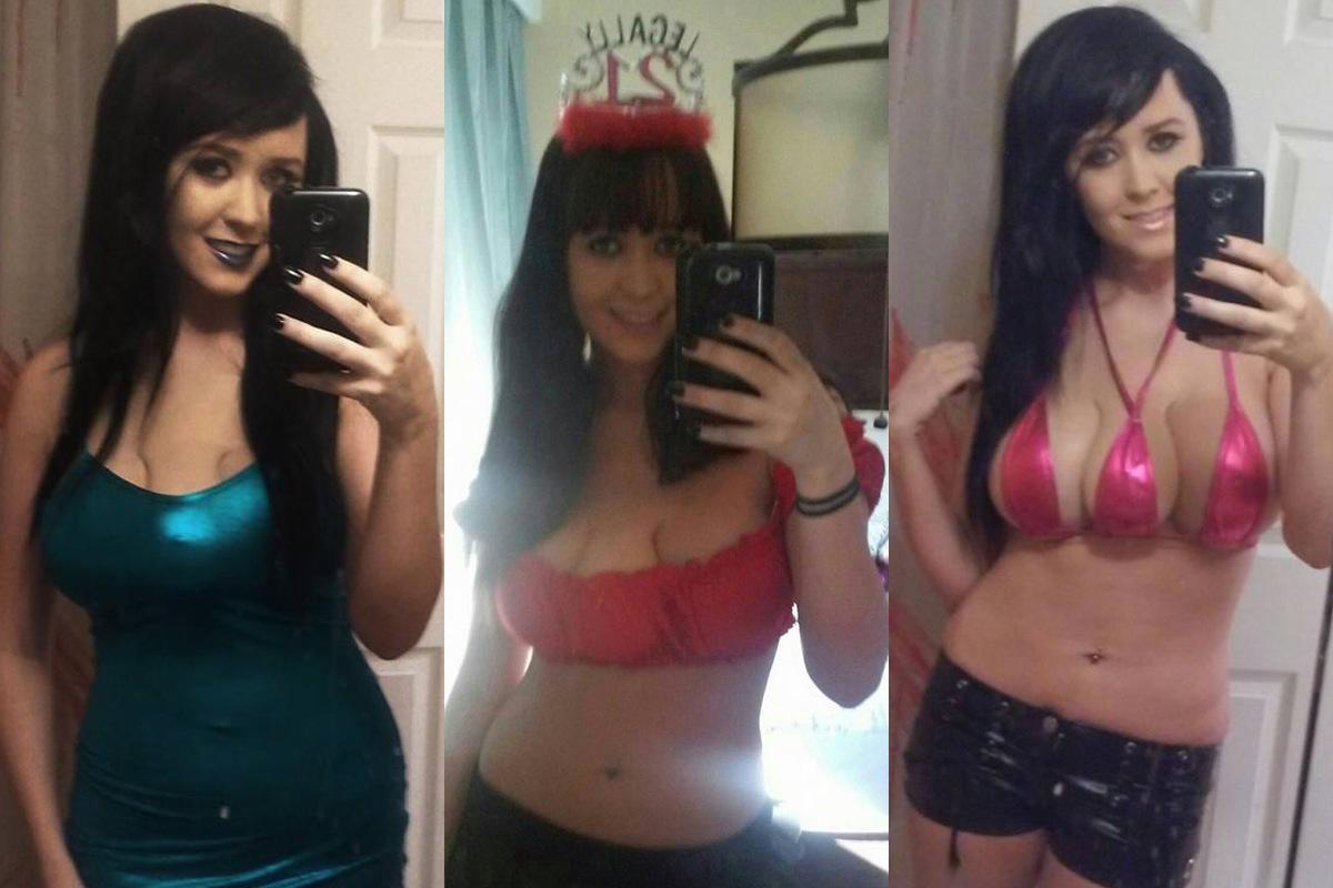 فتاة أمريكية زرعت ثدياً ثالثاً لإبعاد الشبّان