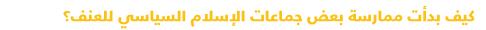دليل مبسط للتعرف على السياسة في مصر - جماعات الإسلام السياسي
