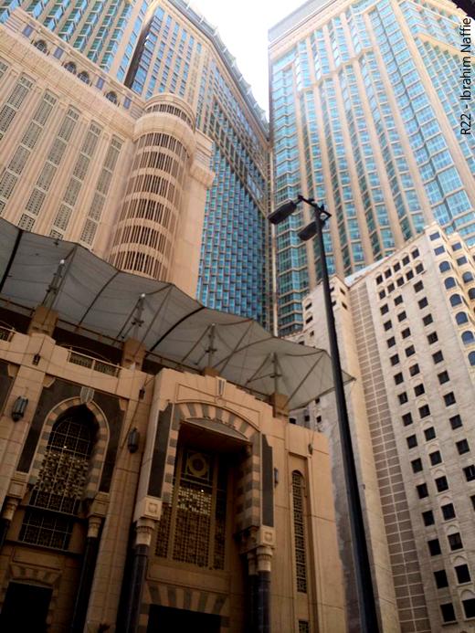 معالم مكة إلى زوال - أبنية عالية