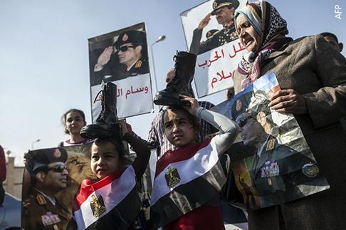 الربيع والعربي وانتشار ثقافة الحذاء - مصر