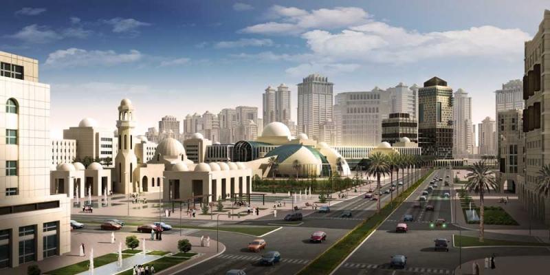 مدن الصحراء السعودية - مدينة المعرفة الاقتصادية