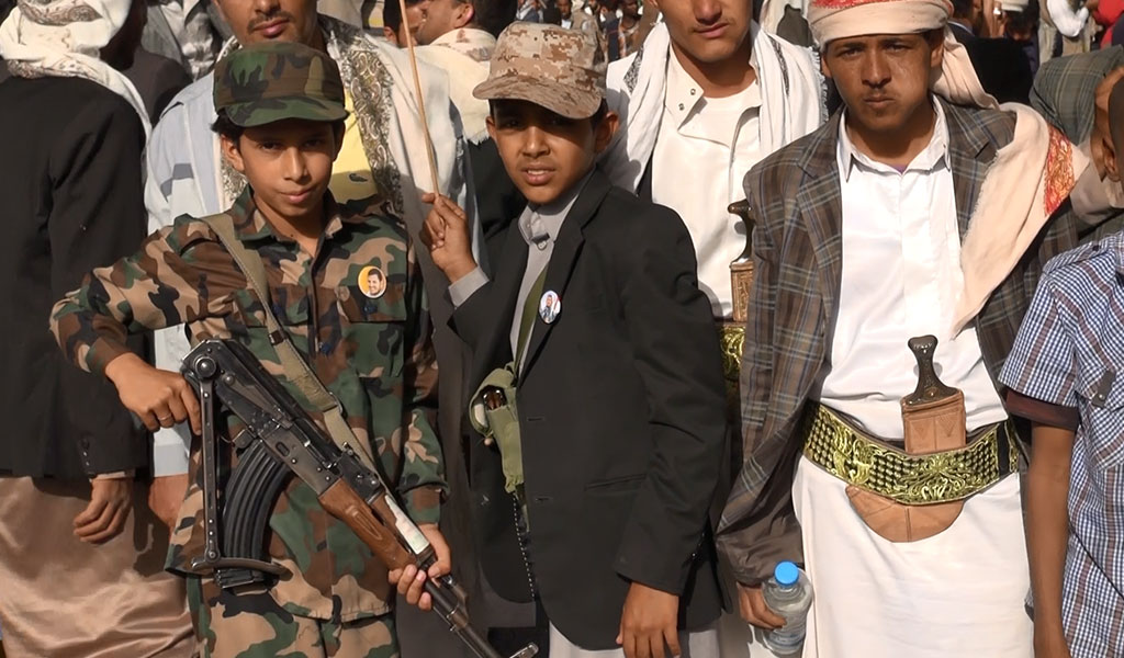 تجنيد الأطفال في اليمن - صورة 2
