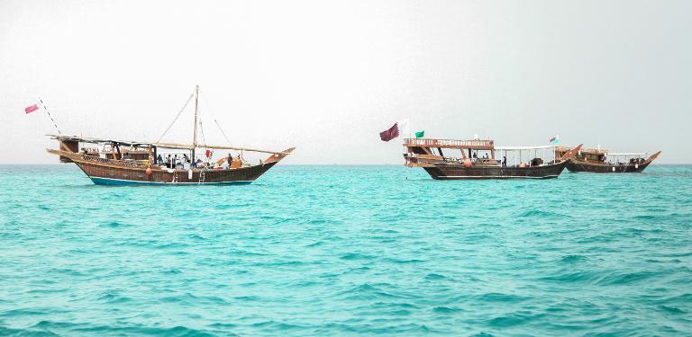 """""""السنيار"""": أكبر حدث سنوي لاصطياد اللؤلؤ في قطر"""