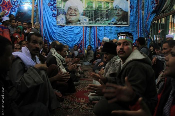 المصريون يحتفلون في ذكرى مولد الحسين - تجمّع للمصريين