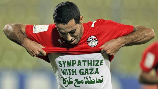 مواقف محمد أبو تريكة السياسية - تضامن مع غزة