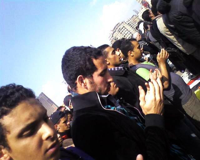 مواقف محمد أبو تريكة السياسية - في ميدان التحرير