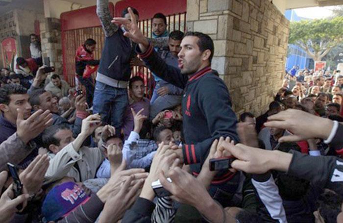 مواقف محمد أبو تريكة السياسية