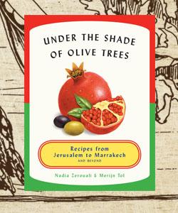 المطبخ اللبناني في كتب - كتب عصرية من المطبخ اللبناني - In-the-shade-of-the-olive-trees