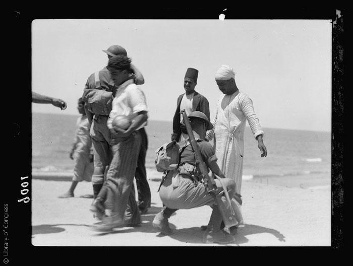 القصة الغريبة وراء تأسيس مدينة تل أبيب - Palestine-disturbances-during-summer-1936.-Jaffa.-Summer