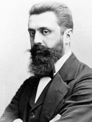 القصة الغريبة وراء تأسيس مدينة تل أبيب - Theodor_Herzl
