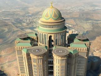 أكبر فندق في العالم سيفتح أبوابه في مكة المكرّمة عام 2017