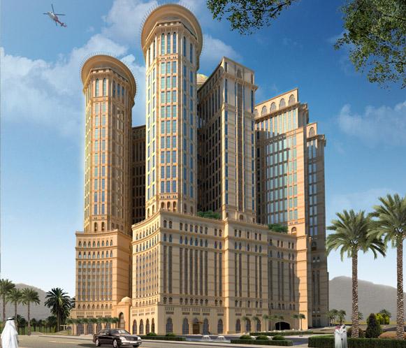 فندق أبراج كدي في مكة المكرمة .. أكبر فندق في العالم