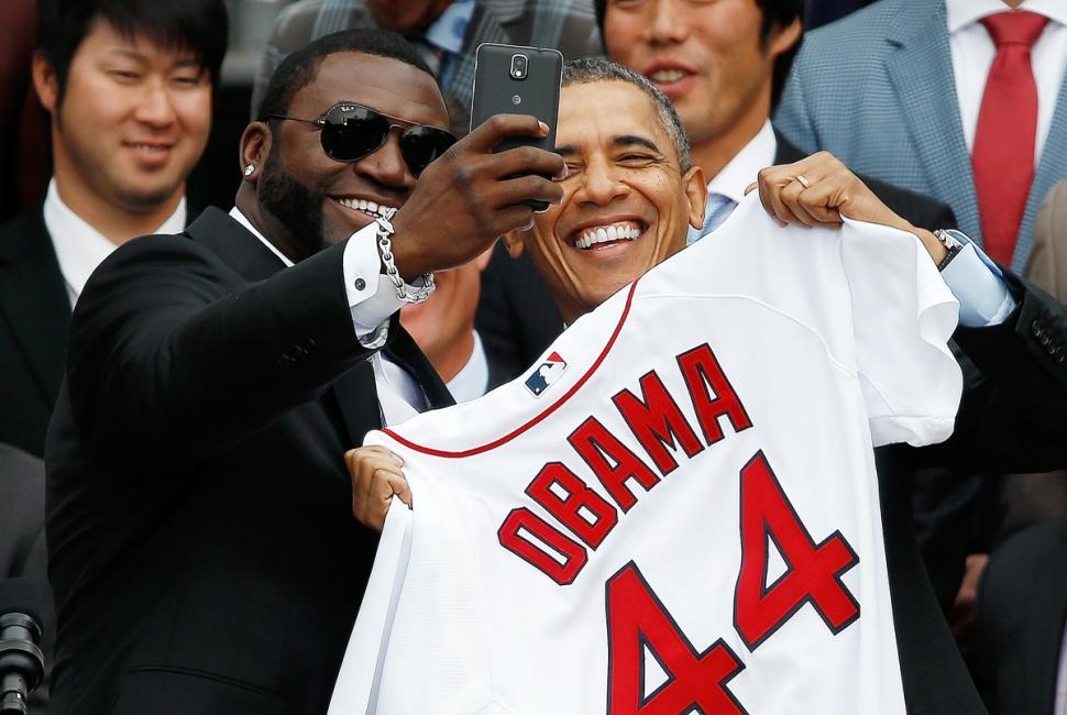 صور السيلفي في عالم السياسة - السيلفي في عالم السياسيين - سيلفي أوباما 2
