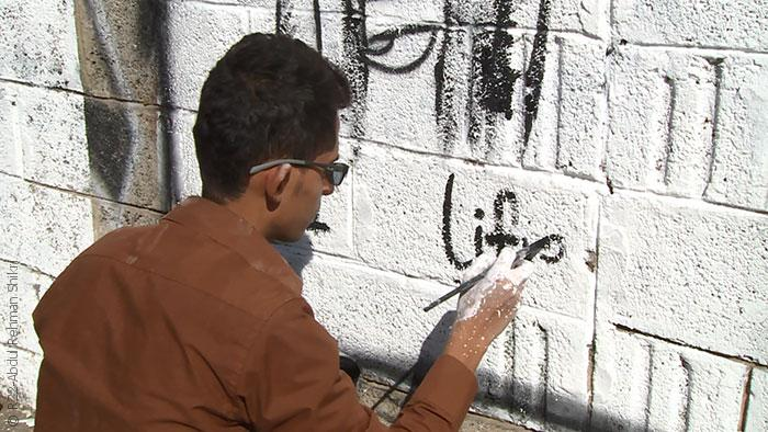 مواجهة الحوثيين بالفن في شوارع صنعاء - الفن في مواجهة الحوثيين - صورة 1