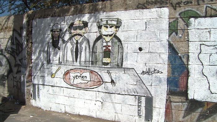 مواجهة الحوثيين بالفن في شوارع صنعاء - الفن في مواجهة الحوثيين - صورة 3