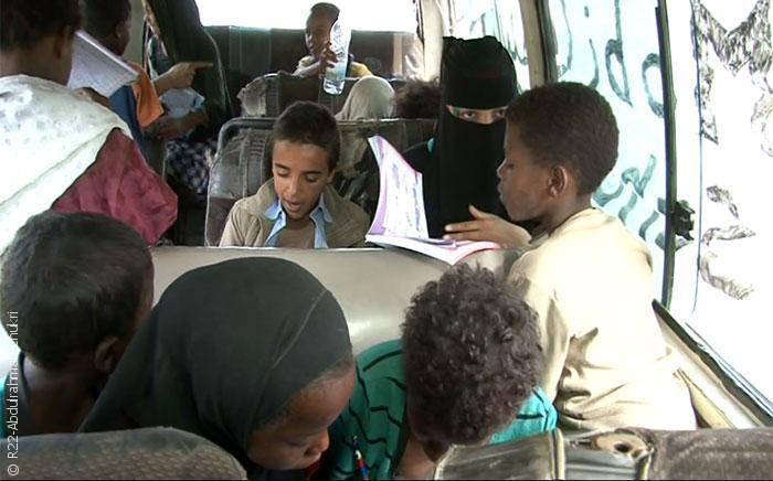 مدرسة موبايل سكول في اليمن - صورة 2