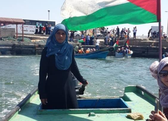 نساء من غزة يمارسن مهن الرجال - صورة 4