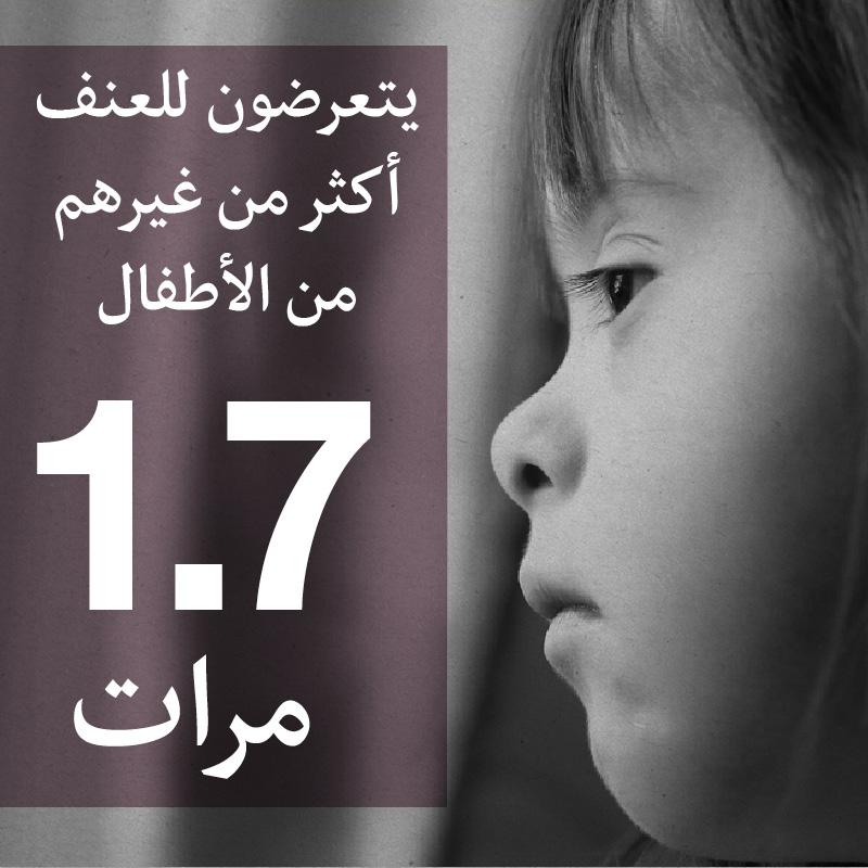 تعذيب ذوي الاحتياجات الخاصة في العالم العربي