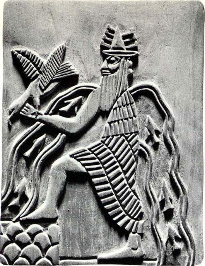 قصص خلق الكون في حضارات الشرق القديمة - الإله إنكي