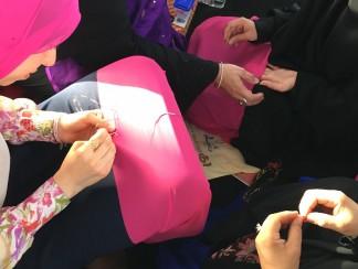 حرفة النقدة: التطريز النسائي على الطريقة البحرينية
