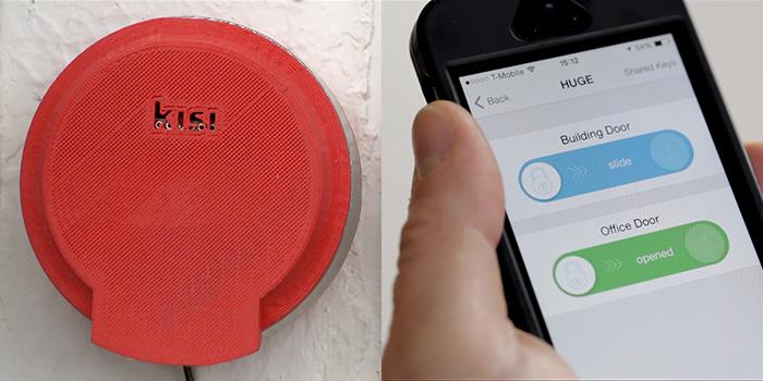 نظام KISI: افتحوا الأبواب بواسطة هواتفكم